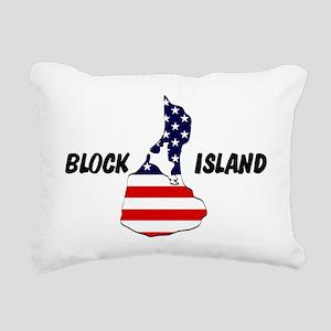 Block Island Rectangular Canvas Pillow