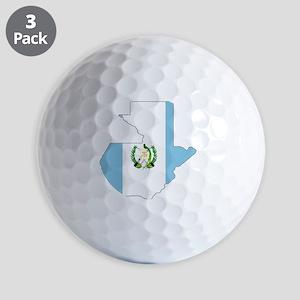 2-Guatemala_mapflag Golf Balls