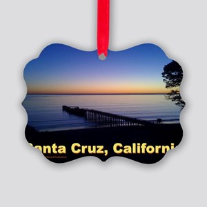 Sunset-At-Seacliff-Beach-DONE-5 Picture Ornament