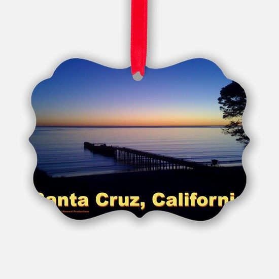 Sunset-At-Seacliff-Beach-DONE-5 Ornament