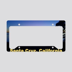 Sunset-At-Seacliff-Beach-DONE License Plate Holder