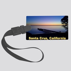 Sunset-At-Seacliff-Beach-DONE-5 Large Luggage Tag