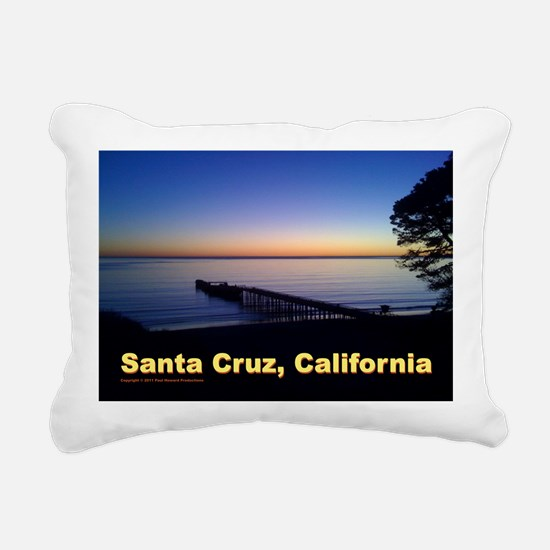 Sunset-At-Seacliff-Beach Rectangular Canvas Pillow