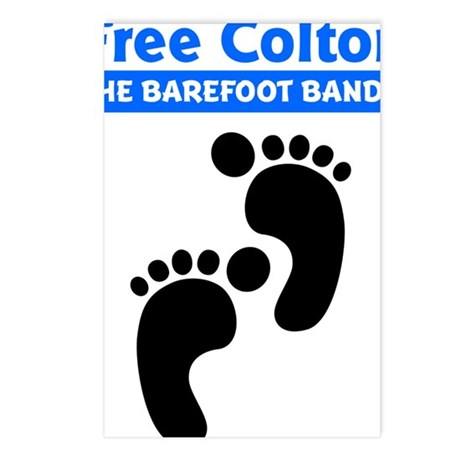colton-footprints Postcards (Package of 8)