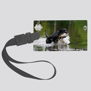 w page Large Luggage Tag