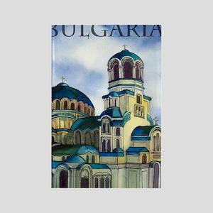 bulgaria4 Rectangle Magnet