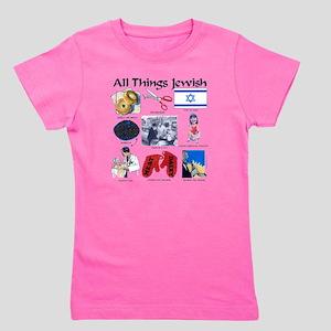 All thing Jewish Girl's Tee