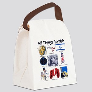 All thing Jewish Canvas Lunch Bag