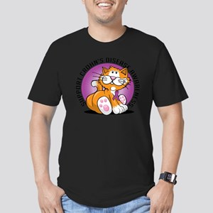 Crohns-Disease-Cat Men's Fitted T-Shirt (dark)