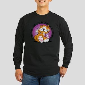 Crohns-Disease-Cat Long Sleeve Dark T-Shirt