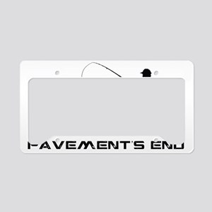 2-Fishing License Plate Holder