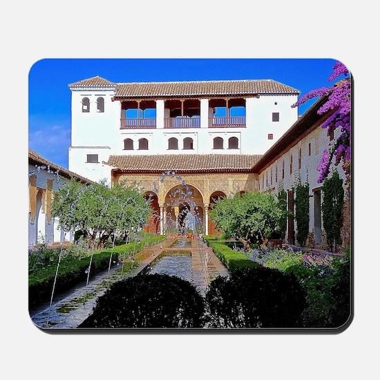 Alhambra in Granada Mousepad