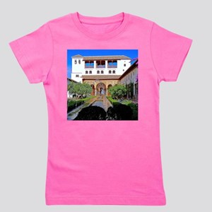 Alhambra in Granada Girl's Tee