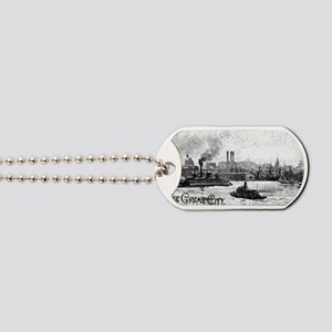 ny water great city Dog Tags