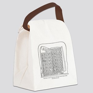 kemet- stages of sun Canvas Lunch Bag