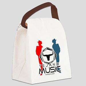 redwhietblue Canvas Lunch Bag