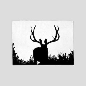 Shadow bucks 5'x7'Area Rug