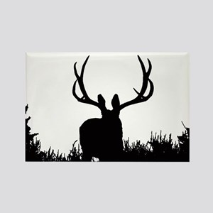 Shadow bucks Rectangle Magnet