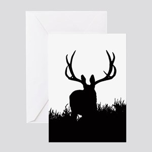Shadow bucks Greeting Card