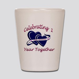 2-celebrating heart 1 copy Shot Glass