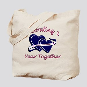 2-celebrating heart 1 copy Tote Bag
