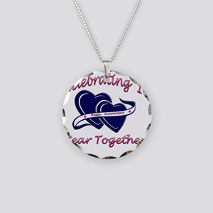 2-celebrating heart 1 copy Necklace Circle Charm