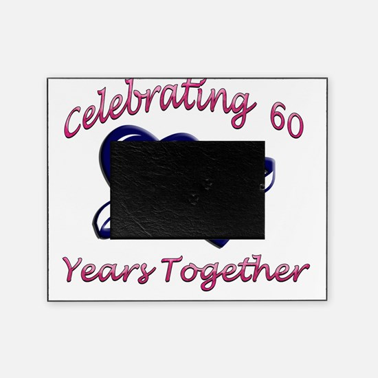 celebrating heart 60 copy Picture Frame