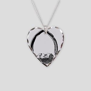 salem Necklace Heart Charm