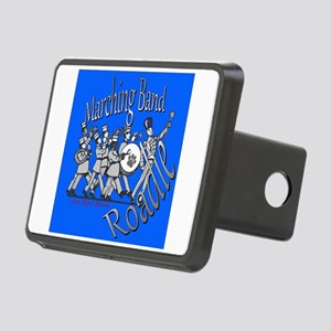 Marching Band Roadie Blue Rectangular Hitch Cover
