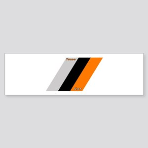 Turbo Cat Stripes Bumper Sticker
