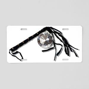 DiamondInRough061210Shadow Aluminum License Plate