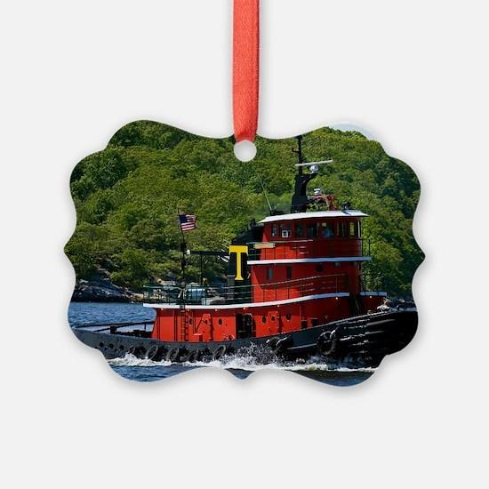 (14) sub tug Ornament