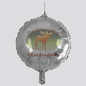 MooseIsLoose1010 Mylar Balloon