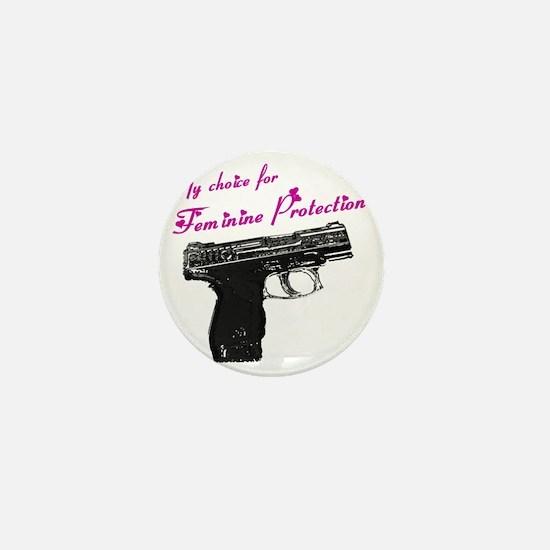 femprotect10x10_apparel copy Mini Button