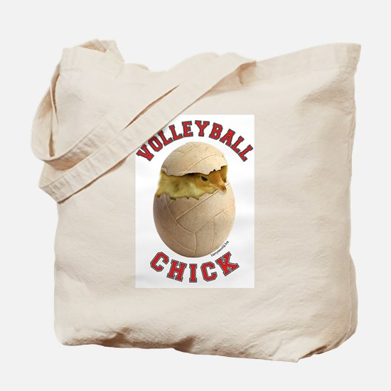 Volleyball Chick 2 Tote Bag