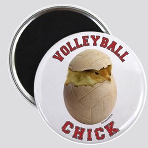 """Volleyball Chick 2 2.25"""" Magnet (10 pack)"""