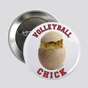 """Volleyball Chick 2 2.25"""" Button (10 pack)"""