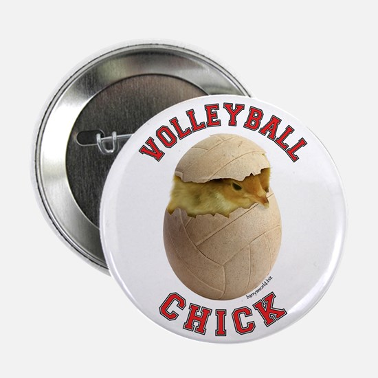 "Volleyball Chick 2 2.25"" Button (10 pack)"
