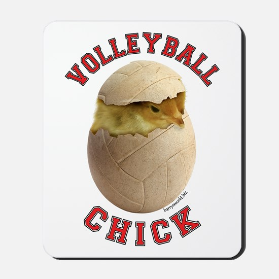 Volleyball Chick 2 Mousepad