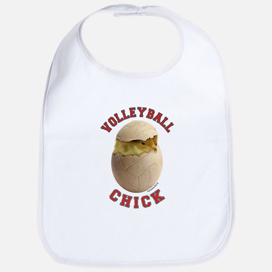 Volleyball Chick 2 Bib