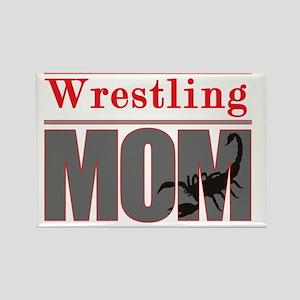 Wrestling_Mom_Scorpion Rectangle Magnet