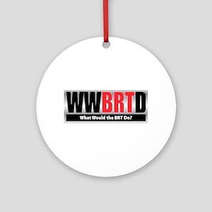 WWBRTD Ornament (Round)