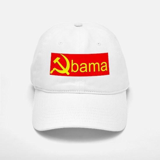 Obama sickle8.31x3_bev mug Baseball Baseball Cap