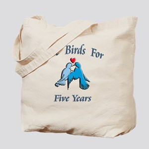 love birds 5 Tote Bag