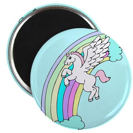 Retro Pegasus Magnet