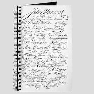declaration signers Journal