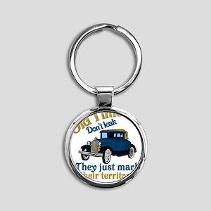 OldTimers1 Round Keychain