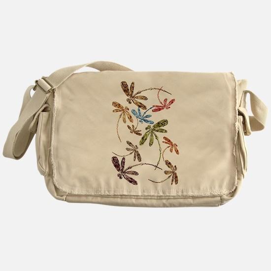 Dragonfly Pop Messenger Bag