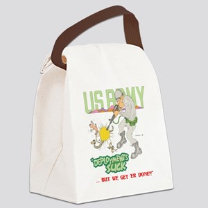 MILITARY (LITE) Canvas Lunch Bag