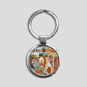 JERUSALEM Round Keychain